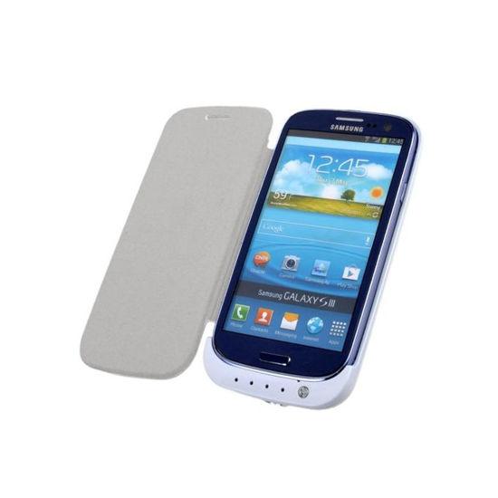 Image sur Pochette Power Bank Pour Samsung Galaxy S3 - 3200 mAh - Blanc