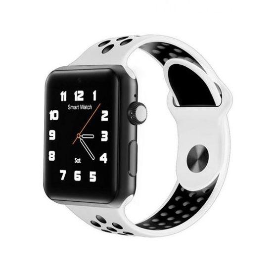 Image sur Montre Connectée M3 - Carte SIM - Bluetooth - Compatible Android/iOS - Blanc Et Noir
