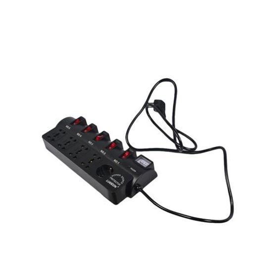 Image sur Rallonge Electrique Multiprise - 1,8m - Noir