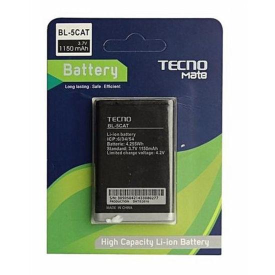 Image sur Batterie Li-ion BL-5CAT pour Tecno Mate 1 - 150 mAh - noir