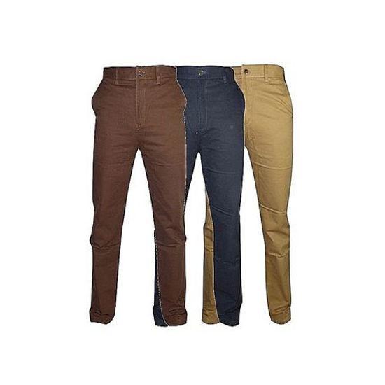 Image sur pantalon - chino - Homme -coton -3 Pièces