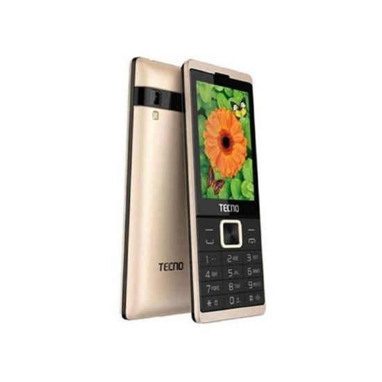 Tecno -T528 -Téléphone -2.8 Pouces -3Mpx -16MB ROM/8MB RAM -Dual Sim -Noir -12 Mois-iziwaycameroun