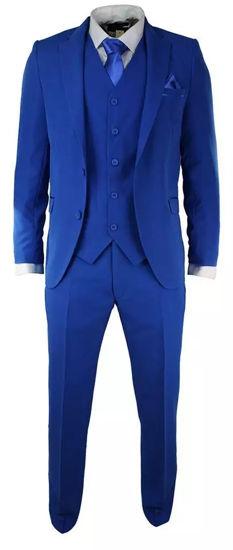 Image sur Promo Spécial  - Ensemble Costume ( Veste & Pantalon ) + Une Chemise Offerte - ( Multicolore )