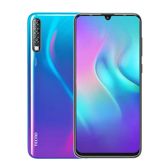 TECNO -PHANTOM 9 –Smartphone -6,4'' -128Go/6Go –32MP/16MP + 8MP + 2MP - 3500mAh – Bleu -12 mois