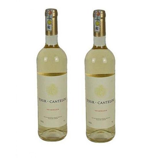 Image sur Tour Cantelou 2 x 75cl - Vin Blanc Moelleux