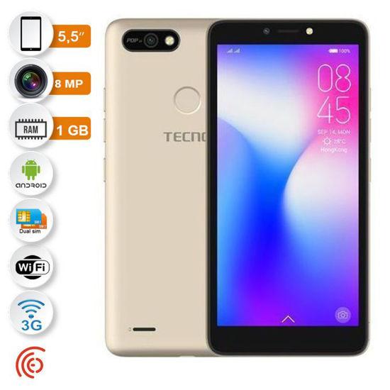 Image sur Tecno -Pop 2F (B1F) -Smartphone -4G -Dual SIM -5,5'' -16GB/1GB -8MP/5MP  -12 Mois