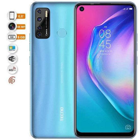 "Image sur Tecno Camon 15 Air – Smartphone -6.6"" - 4G – 3Go/64Go – 8Mpx/48Mpx – 12 Mois"
