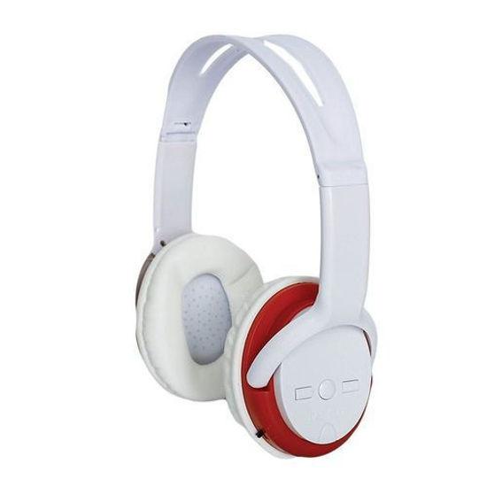 Image sur Casque Bluetooth XK-5800 - Blanc Et Rouge
