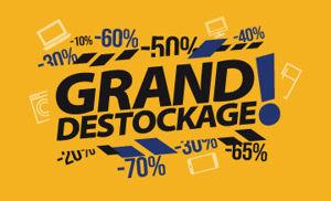 Image de la catégorie GRAND DESTOCKAGE
