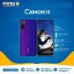 "TECNO Camon 15 - Smartphone - 64GB/4GB - 48MP/16MP - 6.6"" - Reconnaissance faciale - 12 Mois + Clé usb 64 gb"