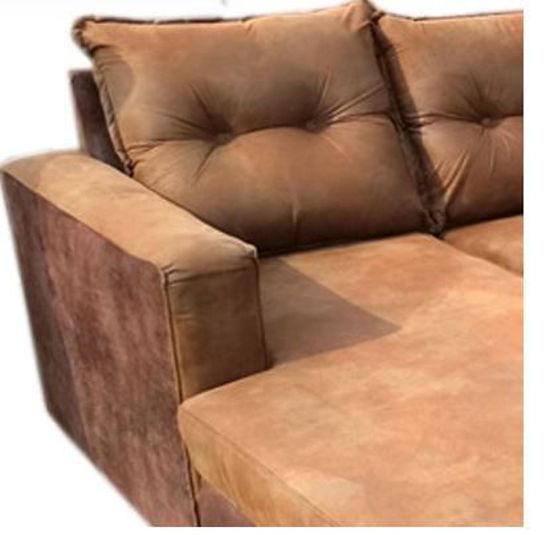Image sur Canapé Sofa En Velour - 03Places - Marron