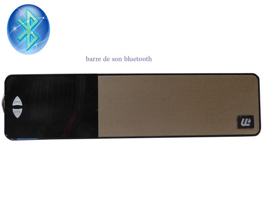 Image sur Haut-Parleur Bluetooth Portable NOIR ET 0R