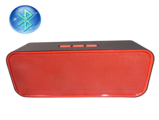 Image sur Haut-Parleur Bluetooth Portable ROUGE ET NOIR