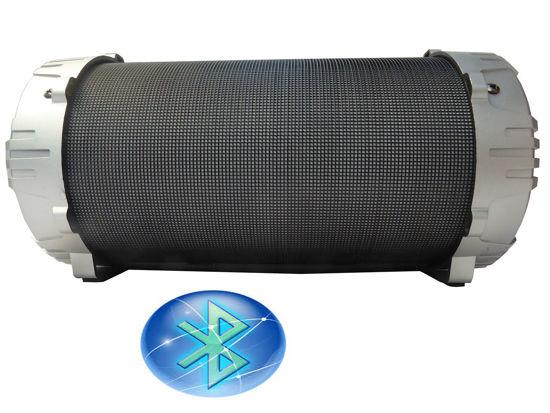 Image sur Haut-Parleur Bluetooth Portable NOIR ET GRIS