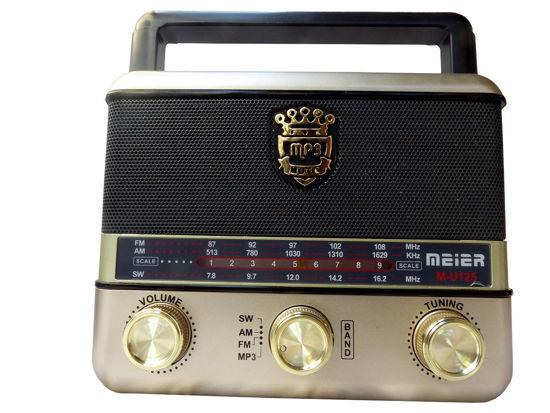 Image sur Radio Avec Fil - Batterie Rechargeable - Interface USB DC TF AC - Antenne