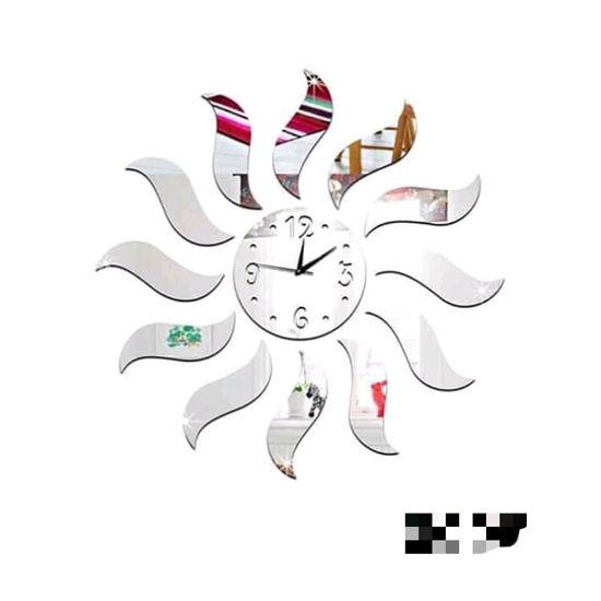 Image sur Horloge Murale 3D - Autocollant