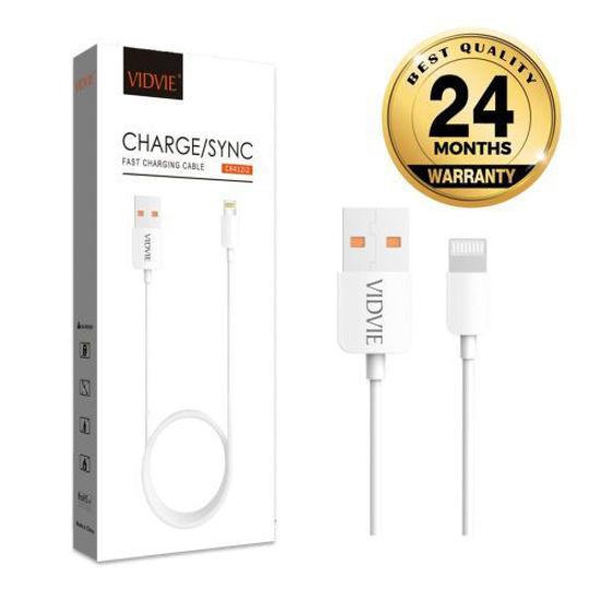 Image sur Cable Usb Haute Qualite Fast Charge Pour Iphone - 2m - Blanc