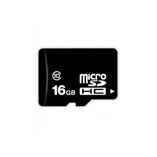 Image sur Carte Mémoire Micro SD 16 Go Avec Adaptateur - Noir