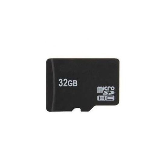 Image sur Carte Mémoire Micro SD 32 Go Avec Adaptateur - Noir