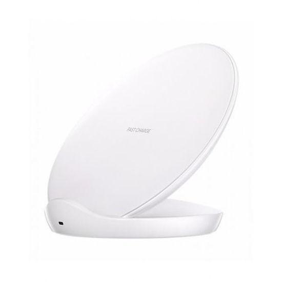 Image sur Chargeur Rapide A Induction QI Sans Fil Pour Galaxy s6 / s7 / s8 / s9 / edge / note5 / note8 - Blanc