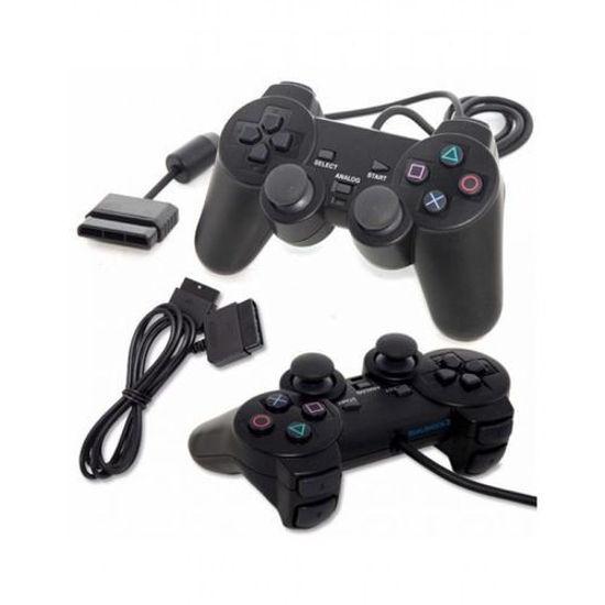 Image sur Manettes Dualshock2 Pour PS2 - 2 Pièces - Noir