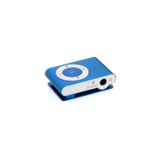 Image sur Mini Baladeur MP3 Compatible avec Carte Micro SD - Bleu