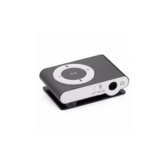 Image sur Mini Baladeur MP3 Compatible avec Carte Micro SD - Noir