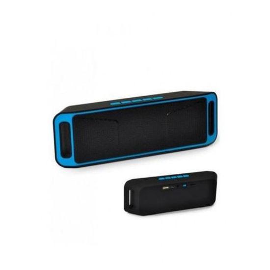 Image sur Mini Enceinte Bluetooth Sans Fil - Noir Et Bleu