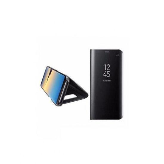 Image sur Pochette Miroir A Vue Dégagée Pour Samsung Galaxy S8 - Noir