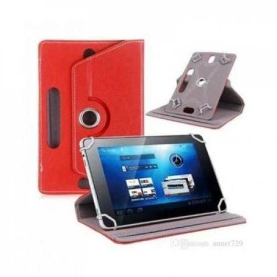 Image sur Pochette rotative 360° Pour Tablette - 7 Pouces - Rouge
