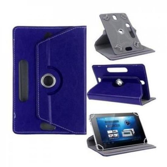 Image sur Pochette Tablette 7'' - Rotative 360 °- Bleu