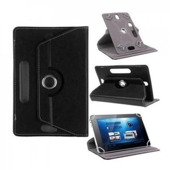 Image sur Pochette Tablette 7'' - Rotative 360 °- Noir