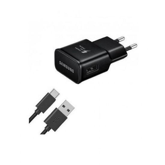 Image sur Chargeur Rapide Pour SAMSUNG S8 / S8+ / S9 / S9+ / Note 8 / C9 Pro - 1,67 A - Noir