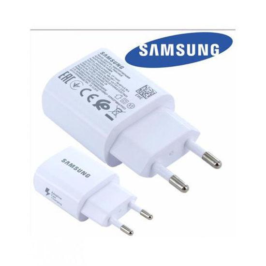 Image sur Chargeur rapide pour SAMSUNG S8 / S8+ / S9 / S9+ / Note 8 / C9 Pro - Blanc