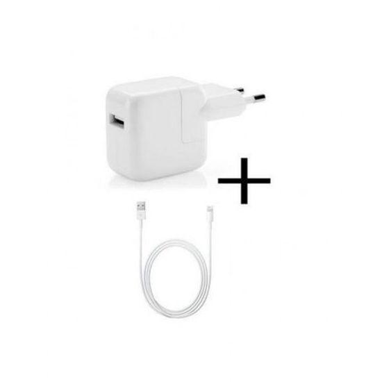 Image sur Chargeur USB Pour iPhone 5/5s/5c/6 - Blanc