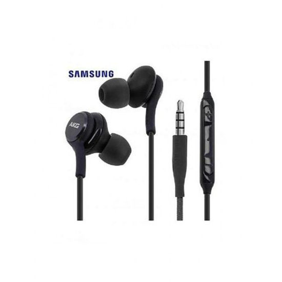 Image sur Ecouteurs Intra-Auriculaires avec micro pour Galaxy S8, S8 Plus,S9, S9 Plus, Note 8 Et Note 9 - Noir