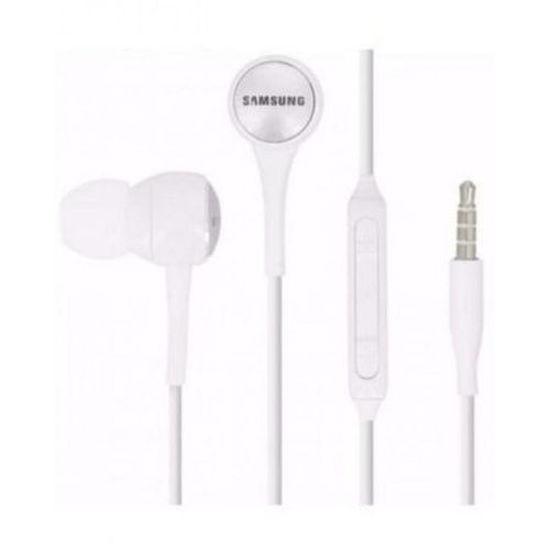 Image sur Ecouteurs Pour  Galaxy Avec Micro - Blanc