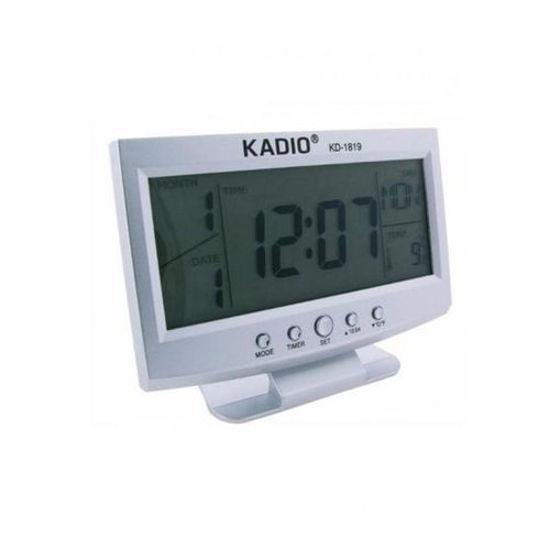 Image sur Horloge Numérique Bureau et Table KD-1819 - Gris