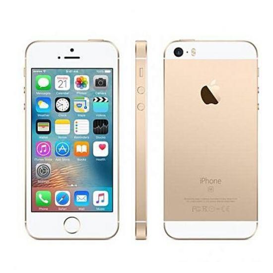 Image sur iPhone 5S - 32Go HDD - Blanc Et Or - 12 Mois + Pochette + Protège Ecran Offerts
