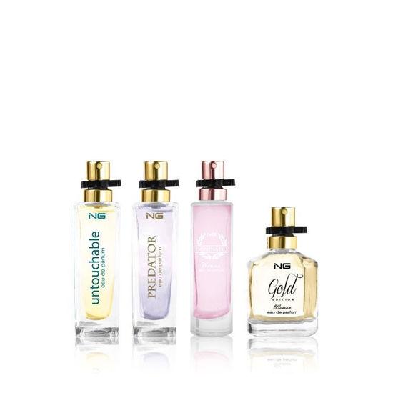 Image sur Coffret cadeau NG Perfumes Assorted Women - 4x15 ml