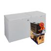 Image sur Congélateur coffre double porte Oscar OSC-CF450S - 450L - Gris - Garantie 6Mois + Régulateur de tension 500VA OSCAR offert