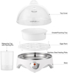Cuiseur à vapeur d'œufs Moderne SIMPLETASTE- 7 œufs -  Blanc - Garantie 03Mois