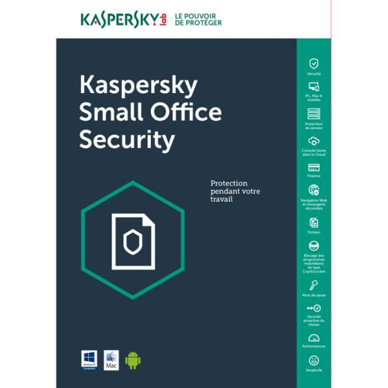 Image sur KASPERSKY SMALL OFFICE 5 POSTES