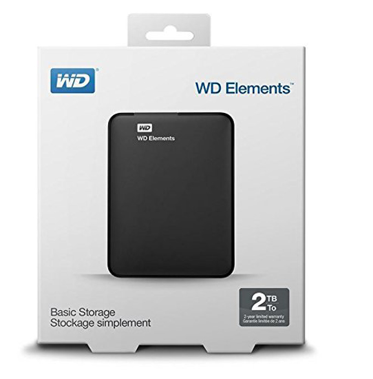 Disque dur externe portable WD - My Passport 2To Noir-iziwaycameroun