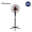 Binatone ventilateur sur pieds A1692B - noir et rouge - 06 mois garantis