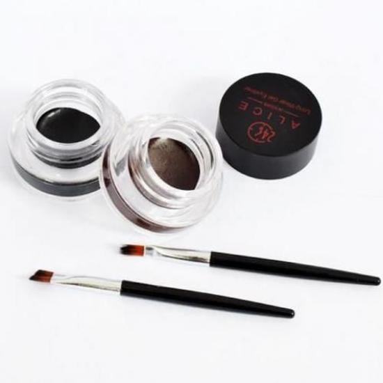 Image sur Gel Eyeliner 2 En 1 - Yeux Et Sourcils - 8g x 2