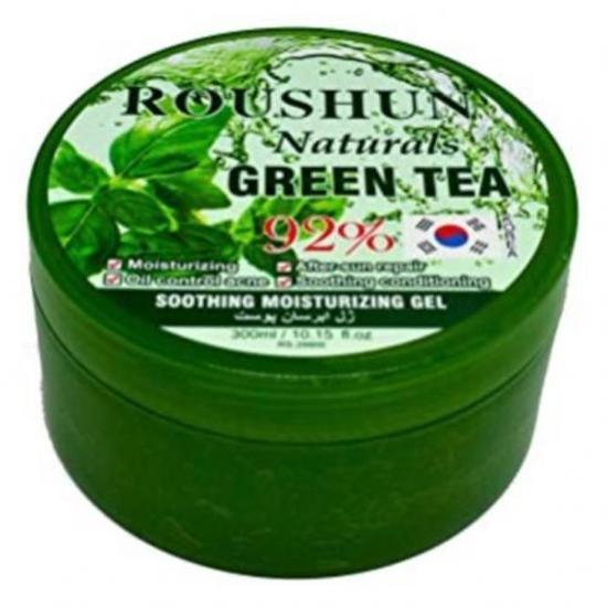 Image sur Gel pure thé vert - pour soins visage, corps et cheveux - 300 ml