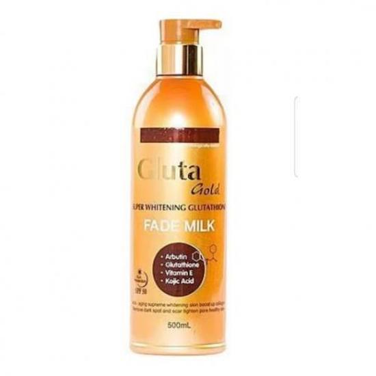 Image sur Gluta Gold Lait Super Blanchissant au Glutathion - 500ml