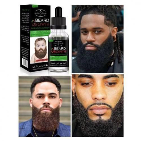 Image sur Huile essentielle croissance de la barbe et des cheveux - 30 g