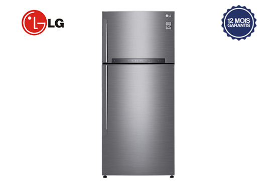 Réfrigérateur LG GN-H722HLHU - 506 litres - double battant -  numérique - 12 mois garantis-iziwayCameroun